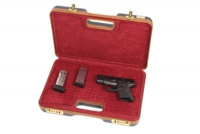 Negrini Gun Cases - Handgun Cases - 2023LX/4840 Smith & Wesson M&P Shield