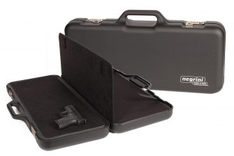 Negrini Handgun Cases - 3039R/5130 Two Sided Pistol Case