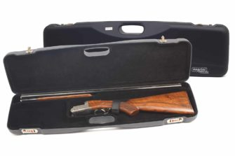 Negrini Shotgun Cases - 1605LR/5139 - Shotgun case for O/U or SXS