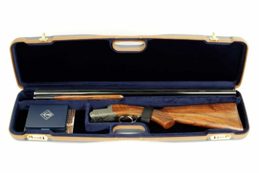 Negrini Shotgun Cases - 1605LX/5138 interior takedown shotgun case