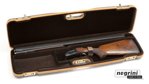 Negrini Shotgun Cases - 1602LX/4707 interior breakdown shotgun case