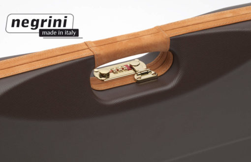 Negrini Shotgun Cases - 1602LX/4707 detail handle breakdown shotgun case