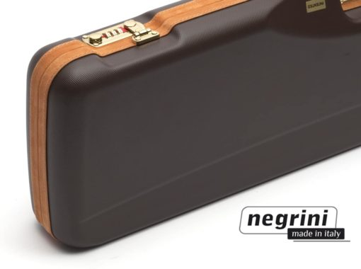 Negrini Shotgun Cases - 1602LX/4707 detail lock breakdown shotgun case