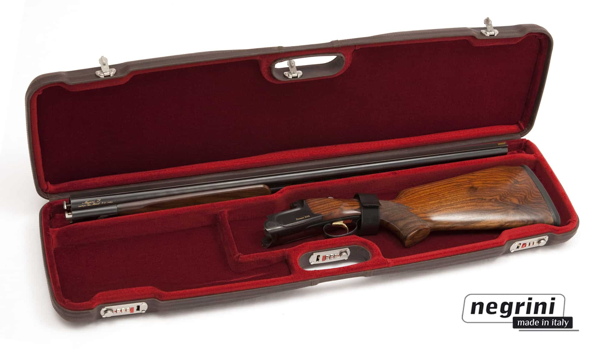 Negrini Shotgun Cases - 1602PL/4708 interior breakdown shotgun
