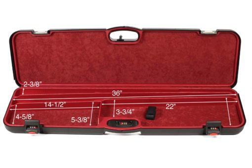 Negrini Takedown Shotgun Cases - Budget Trap combo 1603iS-2C/4782 interior dimensions