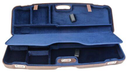 Negrini Shotgun Cases - 1622PL/5137 Two Gun Case - Top and bottom