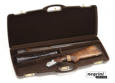 Negrini Rifle Cases - 1623PL-EXP/4812 One rifle with scope - Double rifle breakdown internal