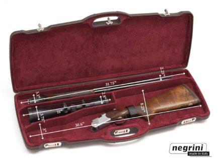 Negrini Rifle Cases - 1623PL-EXP/4815 One rifle with scope - Internal dimensions