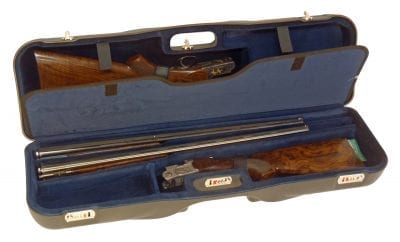 Negrini Shotgun Case - 1646LR-3C/4764 interior