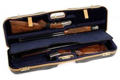 Negrini Shotgun Cases - 1646LX-3CC/4766 - Interior Zoli Shotguns