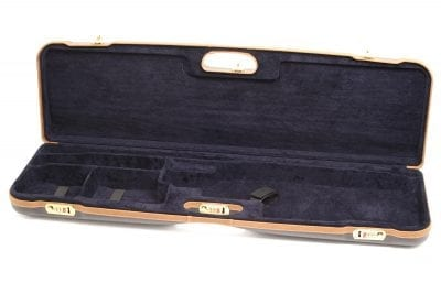 Negrini Gun Cases - 1657LX - High Rib Shotgun breakdown case interior