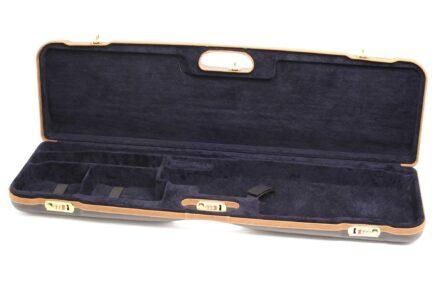 Negrini Gun Cases - 1657LX - High Rib Shotgun breakdown case interior