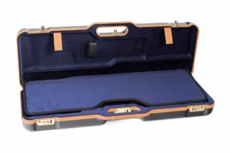 Negrini Gun Cases - 1670LX - Two shotgun breakdown case interior top