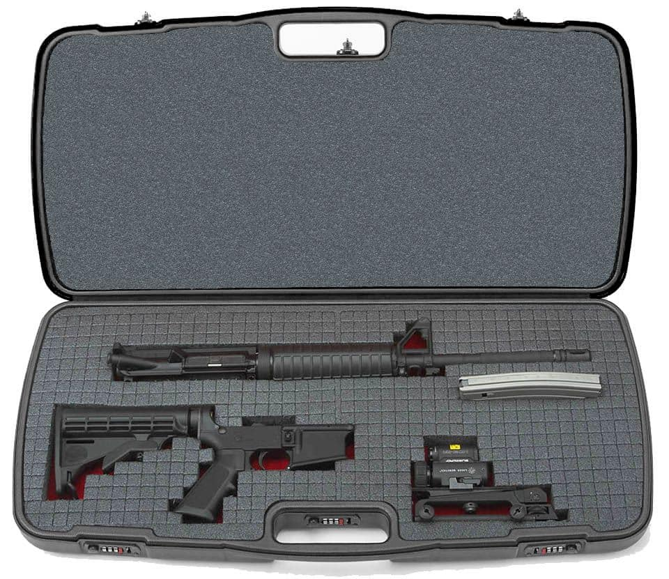 Negrini Compact Tactical Gun Case - AR-15 KSG UTS-15 ...