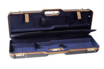 Negrini Shotgun Cases - 1670LX/4973 interior two takedown shotgun case