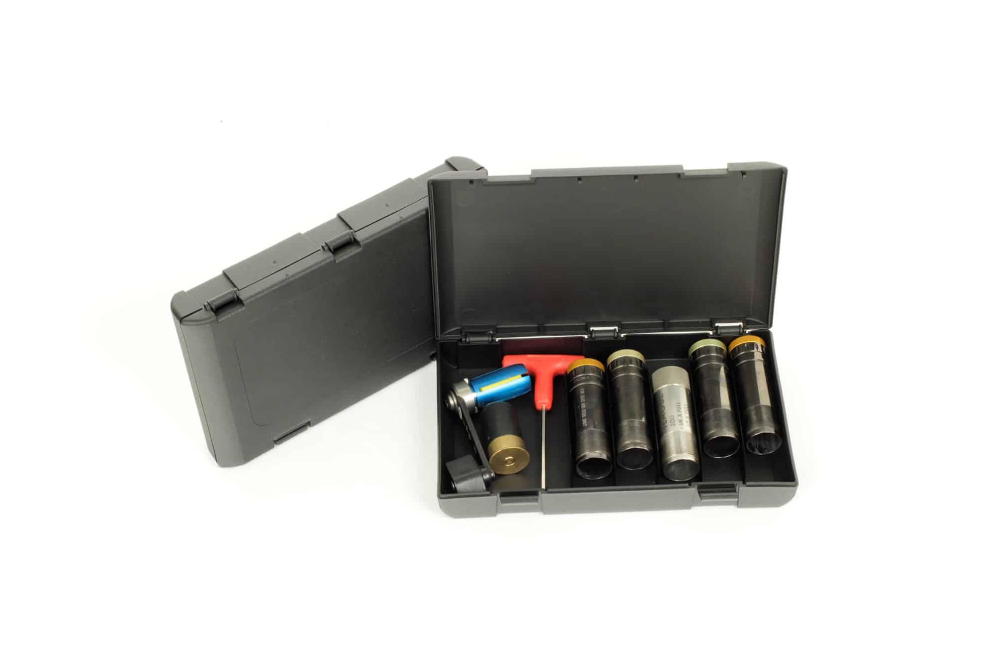 Negrini Deluxe 5x Extended Shotgun Choke Tube Case + Wrench - 5033-5