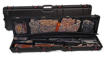 Negrini Gun Cases - Gun Luggage - Two Scoped Rifle case plus luggage