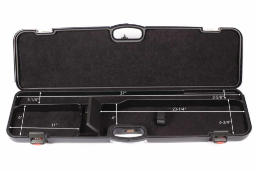 Negrini gun cases - UNICASE - Interior dimensions