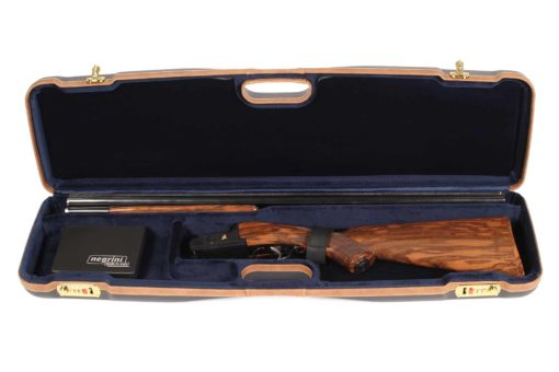 Negrini 1605LX/5138 OU/SxS Shotgun Case for Travel - Interior Zoli OU
