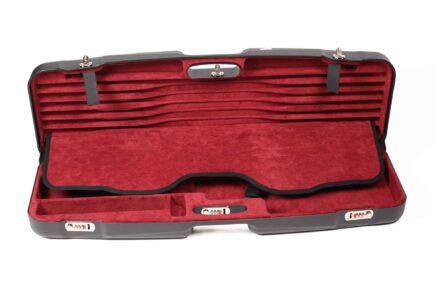 Negrini Gun Cases - 1622LR-TS - High Rib Shotgun + Tube Sets interior top