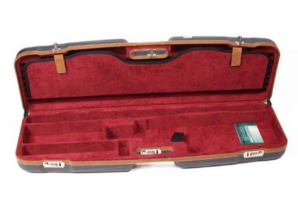 Negrini Gun Cases - 1622LX-TS - High Rib Shotgun Hard Case + Tube Sets bottom side