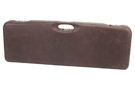 Negrini O/U Superlative Leather High Rib Trap/Sporting Combo Shotgun Case - 1653PPL/5054 - exterior