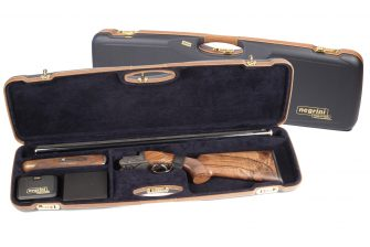 Negrini Shotgun Cases - 1654LX - High rib shotgun case
