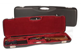 Negrini Sporter Leather shotgun case 1654PL/5246