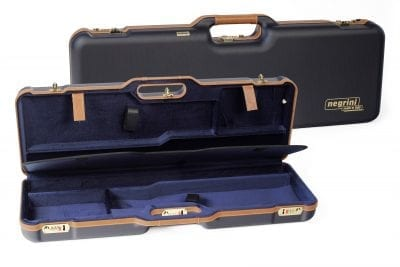 Negrini Deluxe Two OU or SXS Shotgun Case - 1670LX/4973
