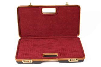 Negrini Gun Cases - Handgun Cases - 2027LX Two Handgun Case Interior