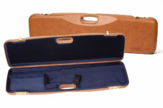 Negrini Gun Cases - 1605PL - Leather shotgun case thumbnail