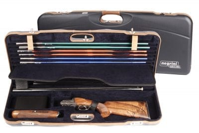 Negrini Shotgun Cases - 1652LX-TS/5212 Breakdown Shotgun Tube Set Case