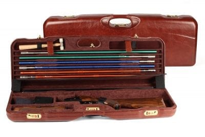 Leather Skeet Shotgun Case + Tube Set - 1659PL-TUBE/5246