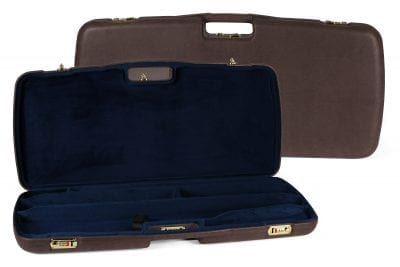 Negrini Luxury Leather Takedown Rifle Case - MOD.9PL-EXP/4828