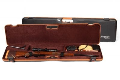 Negrini Rifle Case - 1619LX/5287 Single Scoped Rifle Hard Case Winchester Rifle