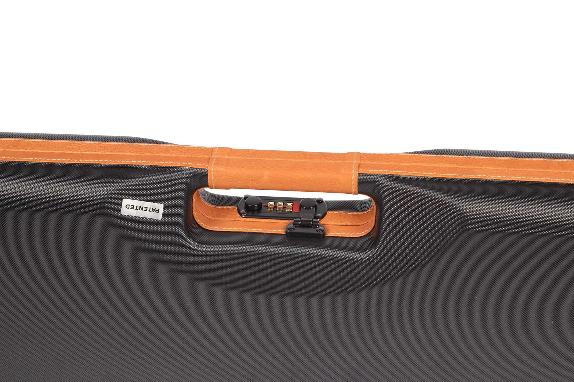 Single scoped rifle hard case
