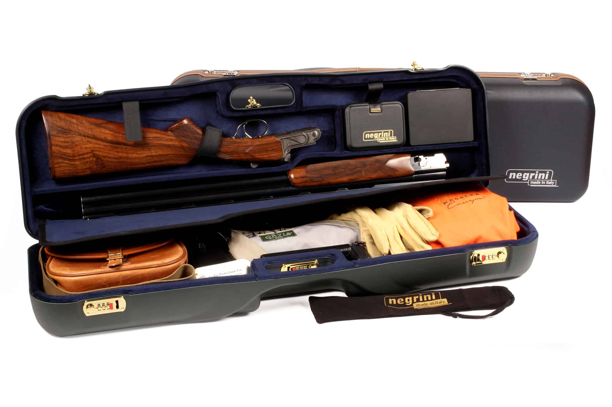 Negrini Luxury Hard Gun Cases - Airline Approved Cases for