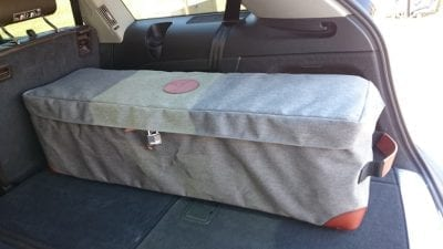 No 1 Crushable Vault - Car, Truck or SUV lockable gun case