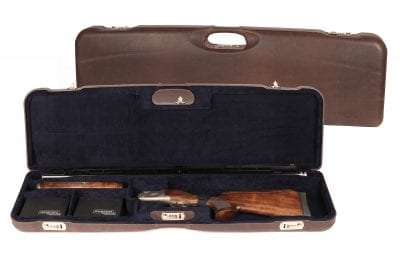 Negrini Trap Single high rib shotgun case - 1657PL/5244
