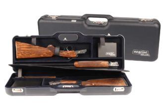 Negrini 1670LR/5436 two gun OU Shotgun Case