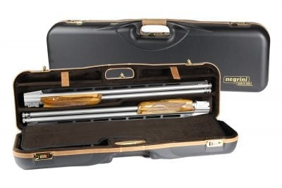 Negrini High Rib Combo Shotgun Case - 1646LX-2C/4765