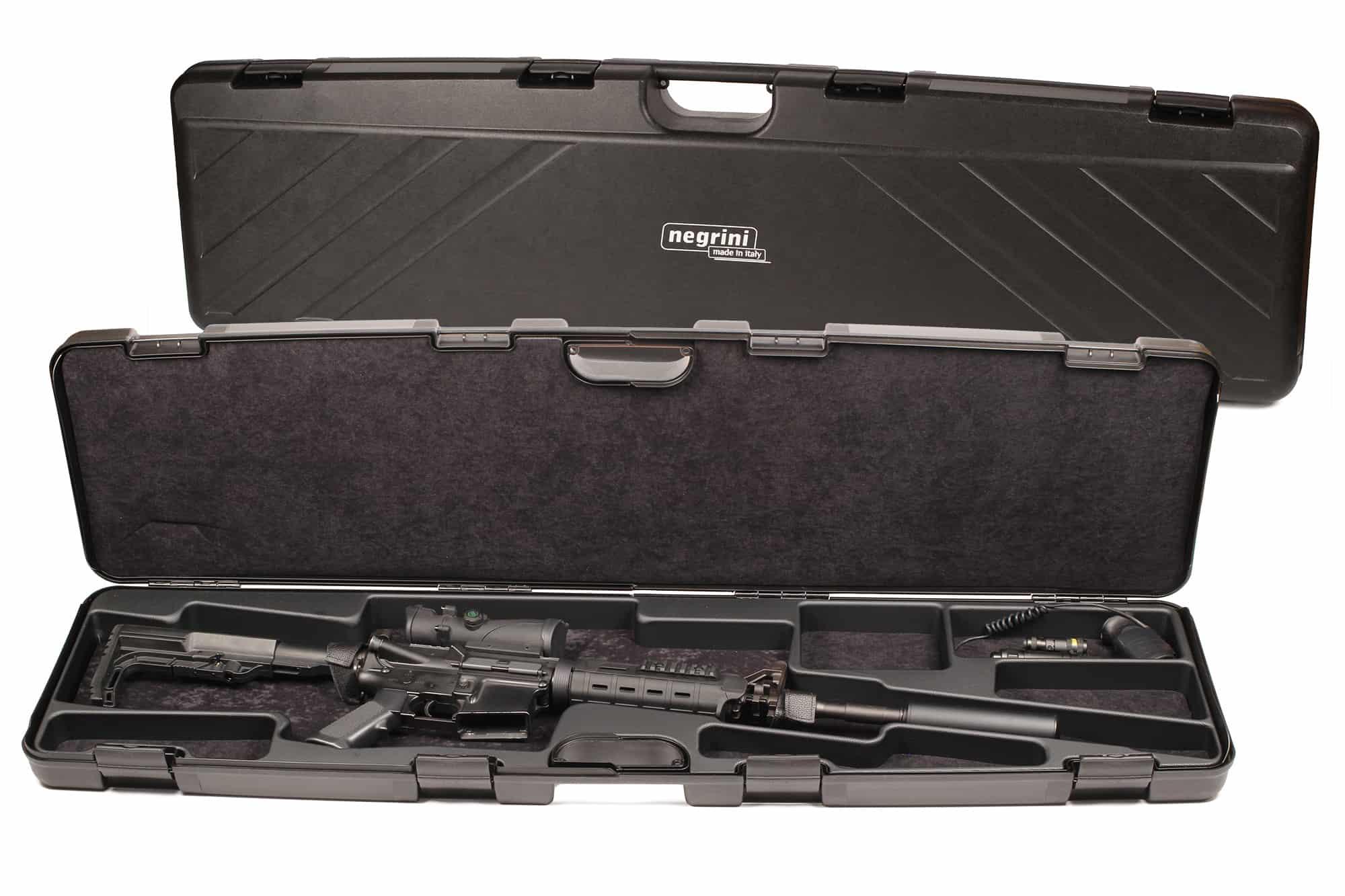 Negrini Hybrid AR-15 Tactical Rifle Case - 1685ISY/5453