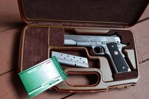This 1911-specific case by Negrini fits the 1911 like a glove, and offers great protection for your firearm in transit.