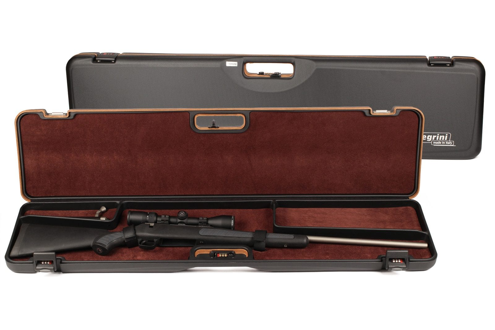 Negrini 1619LUNG/5517 Compact Bolt Action Rifle Case