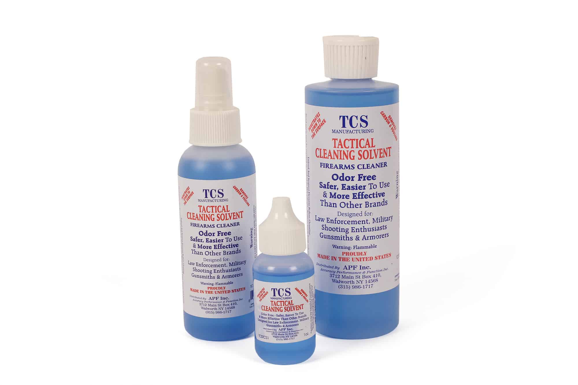 TCS Tactical Cleaning Solvent