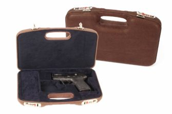 Negrini Luxury Leather GLOCK handgun Case 2028PL/5542