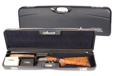 Negrini 1657R/5552 High Rib Trap Shotgun Case interior