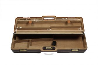 Negrini Deluxe Takedown Rifle Case - 1621LXX-EXP top dimensions