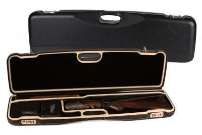 Negrini Superlative Luxury Leather Shotgun Case 1605PPL