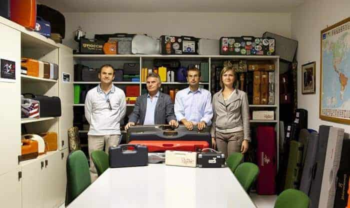 The Negrini Gun Case family, Romano, Franco, Graziano and Elisabetta